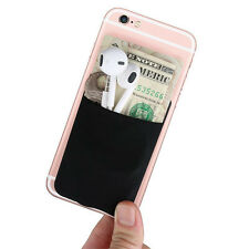 Universal Adhesive iPhone Card Holder, Card Wallet Stick on Any Phone & Case USA