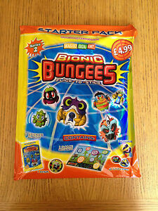 NEW Bungees Bionic Series 2 Starter Pack BOARD1 DISK2 STICKERS1 BUNGEE ALBUM - Telford, United Kingdom - NEW Bungees Bionic Series 2 Starter Pack BOARD1 DISK2 STICKERS1 BUNGEE ALBUM - Telford, United Kingdom