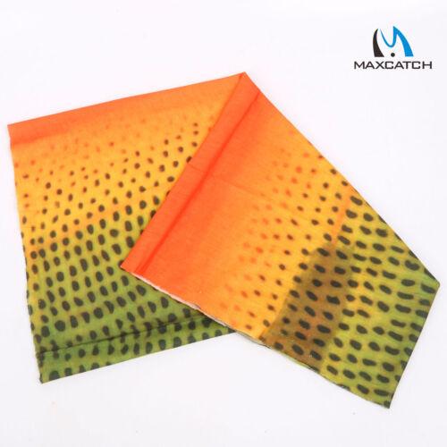 Maxcatch Fly Fishing Scarf Headwear Sun Protection Anti-UV Neck Gaiter Hood