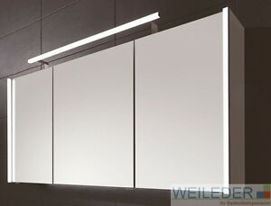 Puris Linea Bad Spiegelschrank 70/100/130 cm LED-Profile ...