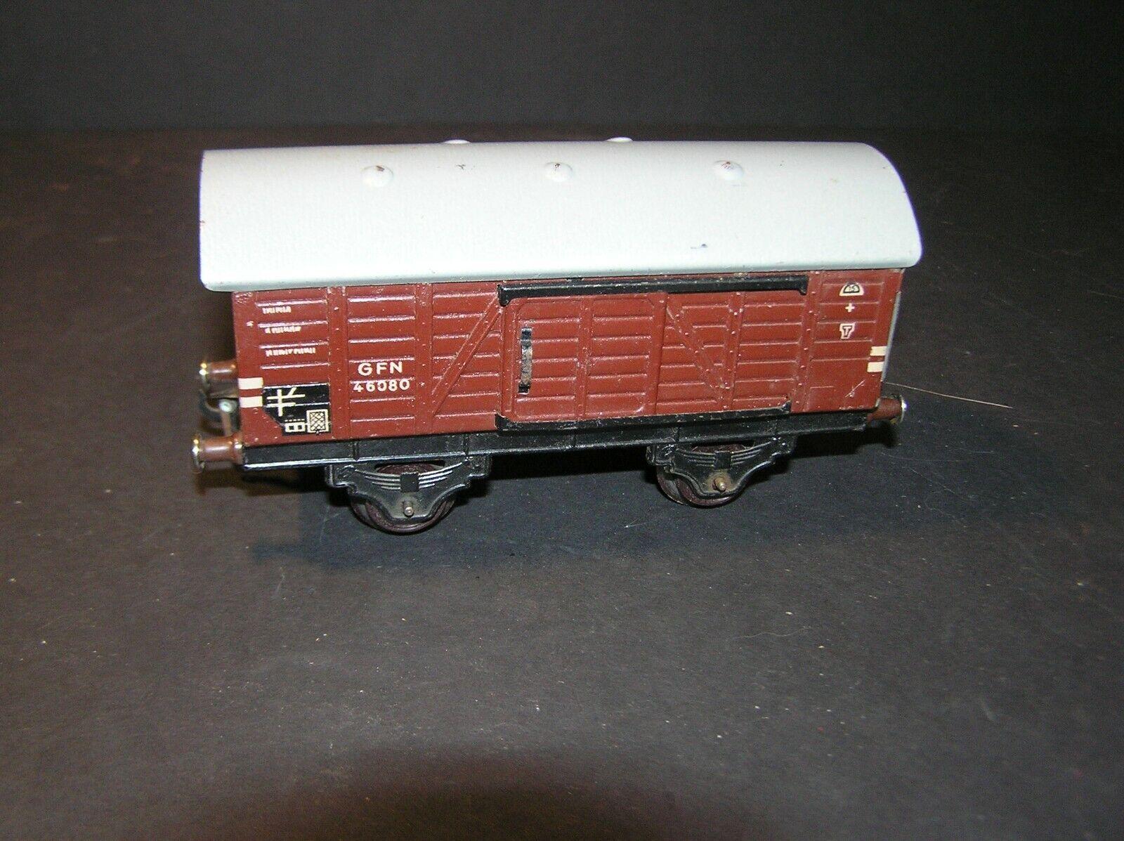 Fleischmann O Scale 1950's Goods Wagon U.S. Zone Germany (i)