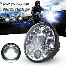 575 70W LED Headlight Lamp Projector For Cafe Racer Harley Davidson Dyna UK