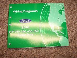 [SCHEMATICS_48EU]  2016 Ford F-250 Super Duty Truck Wiring Diagrams Manual XL XLT Lariat  Diesel | eBay | 2016 Ford F250 Wiring Diagram |  | eBay