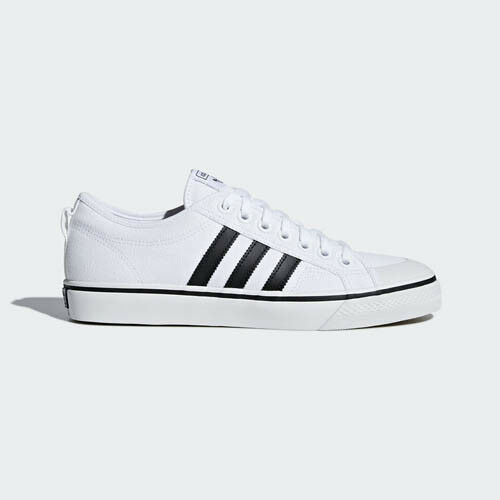 Adidas AQ1066 NIZZA Casual chaussures blanc sneakers