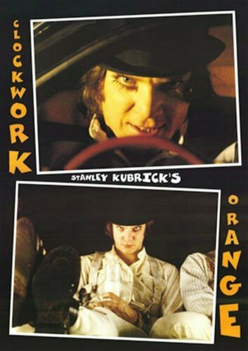 Clockwork Orange Driving Movie Poster 24 X 36