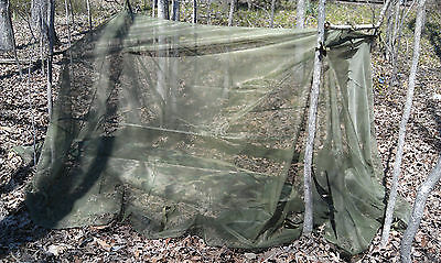 Good US Military Mosquito Insect Bar Cover Canopy Field Net Outdoor Camping Hunt
