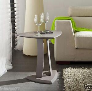 Tavolino Alto Salotto.Dettagli Su Tavolino Da Salotto Mod Emma Alto Tavolo Triangolare Con Piantana Fisso 60x48