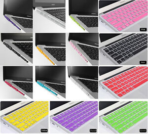 2in1 For All Macbook(Air,Pro,Retina Pro)Keyboard Cover Anti-Dust Plug Set