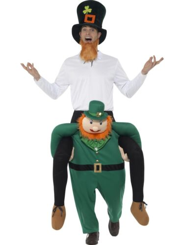 Piggyback Costume Ride On with Fake Legs Novelty Adult Fancy Dress Costume