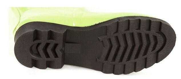 New RALPH LAUREN Damens Green Rubber Rain On Tall Knee-High Flat Pull On Rain Boot Sz 6 M 96d0ee