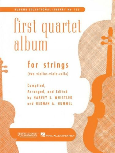 First Quartet Album for Strings Two violins viola /& cello String Trio  004472760