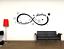 miniature 1 - Adesivo personalizzato infinito con nomi stanza fidanzati stickers murale