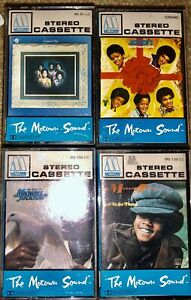 LOT-OF-4-MOTOWN-SOUND-CASSETTE-TAPES-MICHAEL-JACKSON-JACKSON-5-GOT-TO-BE-THERE