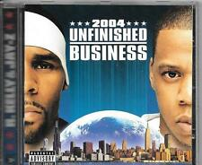 CD ALBUM 11 TITRES--R.KELLY & JAY Z--UNFINISHED BUSINESS--2004