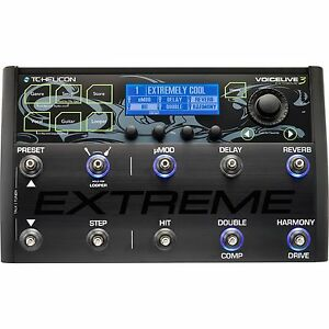 new tc helicon voicelive 3 extreme vocal fx guitar effects looper pedal 684191196829 ebay. Black Bedroom Furniture Sets. Home Design Ideas