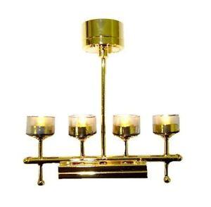 modern four light chandelier battery operated lighting 1. Black Bedroom Furniture Sets. Home Design Ideas
