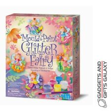 Mould & Paint Glitter Fairy 4M Art & Craft Set Kit Toy Gift Novelty Childs Kids