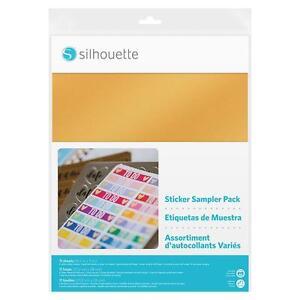 11 Feuilles Assortis Sampler Pack Silhouette Étiquettes 21,5 X 28 Cm Riche Et Magnifique