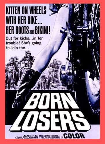 Born Losers Biker Movie 1978 Film Cinema wall Home Posters Art #10 A3