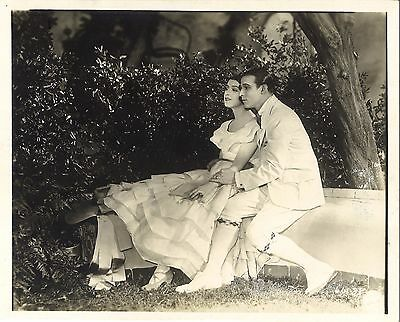 A SAINTED DEVIL (1924) Rudolph Valentino & Helena D'Algy 8x10 LOST SILENT FILM