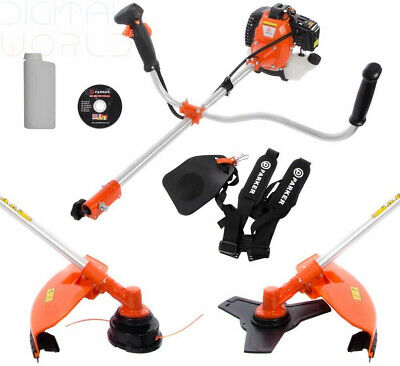 49cc Petrol Power Grass Trimmer Brush Cutter Heavy Duty 1.5KW 2HP