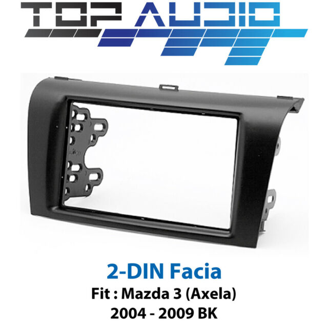 Mazda 3 Axela BK radio Double 2 Din fascia dash panel facia trim kit