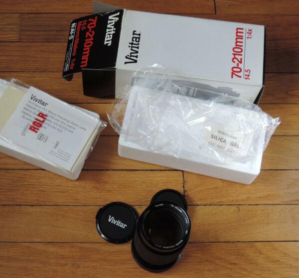 70-210 Mm 1: 4.5 Macro Vivitar Pour Nikon Ais