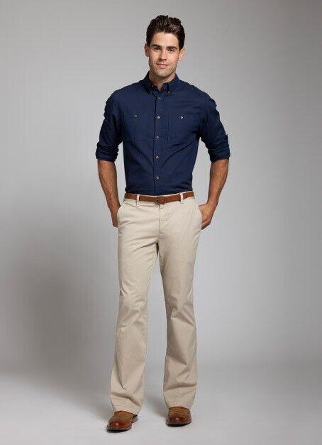 BONOBOS Men's Natural Boot-leggers Pants Retail