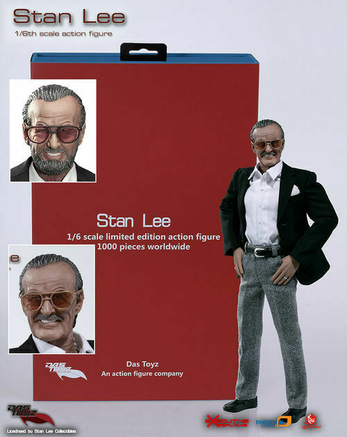 DAS TOYS STAN LEE 1 6 SCALE Acción Figura