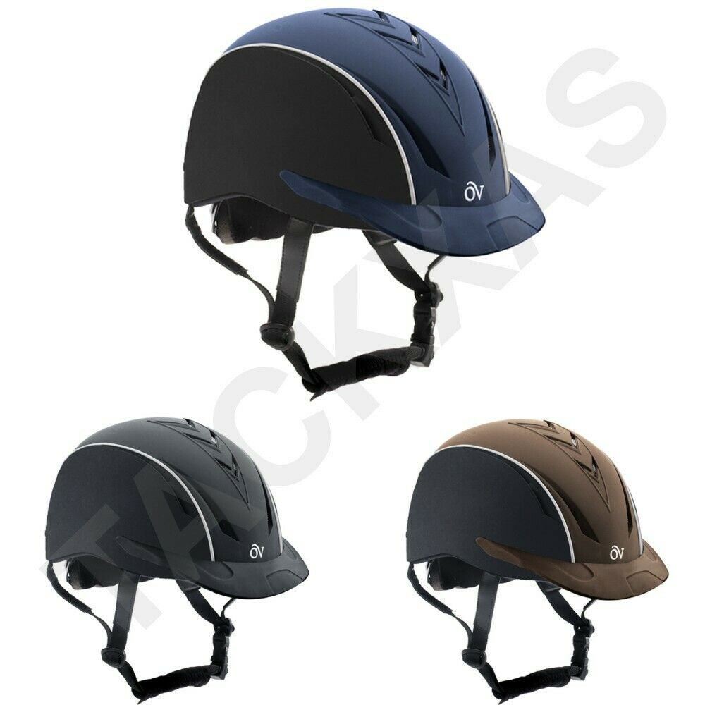 UOVATION HORSE RIDING LIGHTWEIGHT COMFORT SYNC HELMET UBMX
