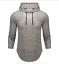 Men-039-s-Slim-Fit-Camicie-a-maniche-lunghe-con-cappuccio-Felpa-con-cappuccio-muscolare-Top-Casual miniatura 16