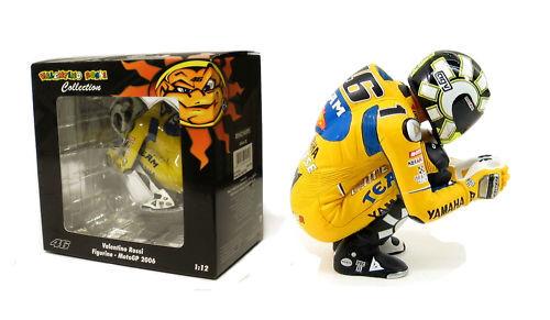 Minichamps Valentino Rossi Sentado estatuilla MotoGP 2006 1 12 Escala