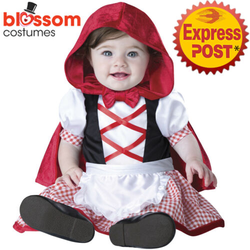 CK1420 Little Red Riding Hood Fairytales Baby Infant Toddler Wild West Costume