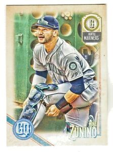 2018-Topps-Gypsy-Queen-BAZOOKA-BACK-139-MIKE-ZUNINO-Seattle-Mariners-SP
