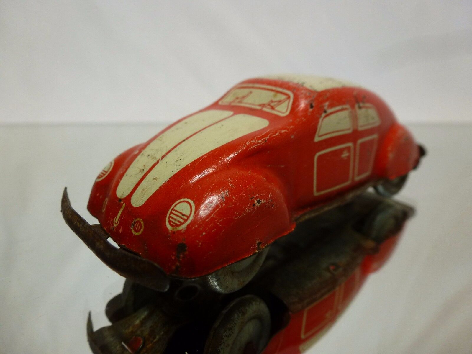 GERMANY US ZONE VW VOLKSWAGEN BEETLE - ROT L10.0cm - EXTREMELY RARE