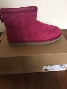 La Neuf 5 Taille Rose 3 Dans Boots Boîte Ladies Ugg FcT0ZWvZO