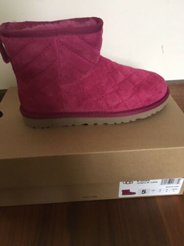 Taille Boots 3 La Ladies 5 Ugg Neuf Dans Rose Boîte vBqnUx