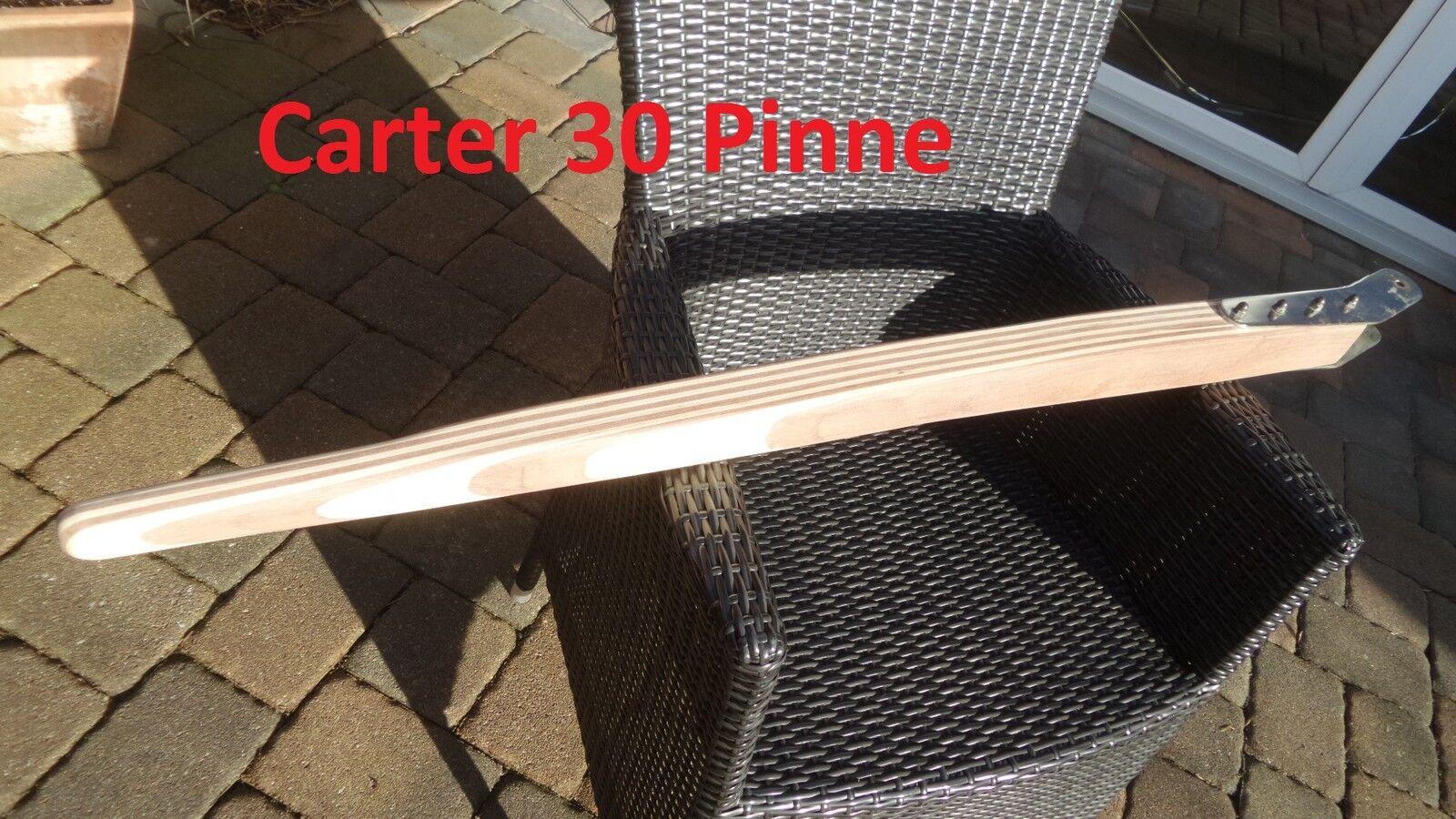 SegelStiefel-Pinne,  lamelliert aus Mahagoni und Esche für für für eine Carter 30 5c1e2d