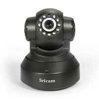 Sricam Wifi Wireless Indoor Ip Camera Onvif Night Vision Ptz 1.0 Mp Hd 720p Mic