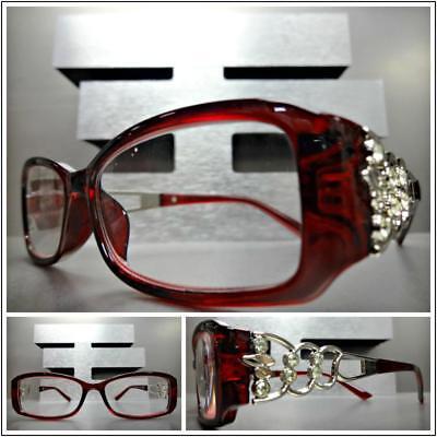 CLASSY CONTEMPORARY MODERN Cat Eye Style SUN GLASSES Transparent Blue Frame Lens