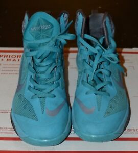 online retailer d3eac b9f8c Image is loading Nike-Zoom-Hyperfuse-2013-Gamma-Blue-Light-Armory-
