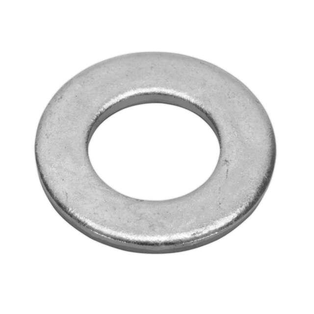 1x Pack Of 50 Sealey Flat Washer M14 x 28mm Form A Zinc DIN 125 - FWA1428
