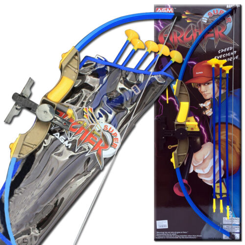 AGM KIDS INFRARED LASER SUPER ARCHERY CROSSBOW TOXOPHILY ARROW TARGET SPORTS SET