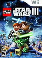LEGO Star Wars III: The Clone Wars - Nintendo  Wii Game