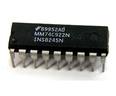 10pcs New MM74C922N Integrated Circuits DIP-18 Good Quality