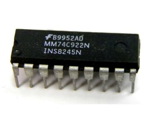 5PCS IC MM74C922N FSC ENCODER 16-KEY 18-DIP NEW GOOD QUALITY