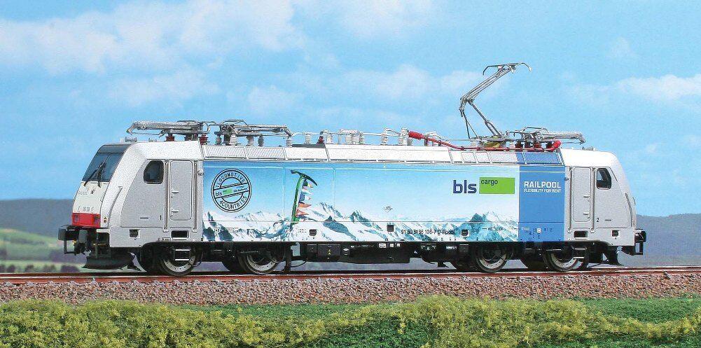 Hs Acme ac60413 gasóleo Traxx f140 MS serie 186 de la BLS AG, railpool