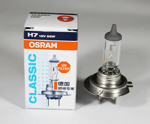 osram h7 12v 55w px26d 64210 classic bulb car headlight. Black Bedroom Furniture Sets. Home Design Ideas