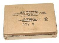 Lot Of 3 Usi Electric Usi-960 Relay Modules For Smoke/heat Alarms, Usi960