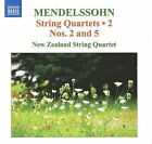 Mendelssohn: String Quartets, Vol. 2 (CD, Sep-2009, Naxos (Distributor))